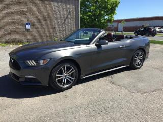 Used 2015 Ford Mustang EcoBoost haut niveau cabriolet 2 portes for sale in Drummondville, QC