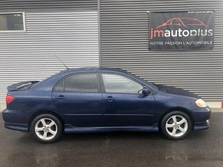 Used 2004 Toyota Corolla 4dr Sdn Sport Auto for sale in Québec, QC