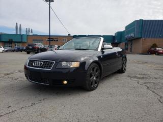 Used 2005 Audi S4 CABRIOLET******4.2 LITRES****** for sale in St-Eustache, QC