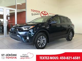 Used 2017 Toyota RAV4 * XLE * HYBRID * TOIT * MAGS * for sale in Mirabel, QC