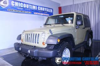 Used 2013 Jeep Wrangler 4 RM 2 portes Sport for sale in Chicoutimi, QC