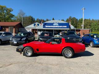 Used 1981 Chevrolet Corvette T-TOP for sale in Flesherton, ON