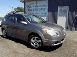 Used 2008 Pontiac Vibe ***AUTOMATIQUE,AIR CLIM,GROUPES ELECTRQI for sale in Longueuil, QC