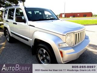 Used 2008 Jeep Liberty Sport - 4WD - 3.7L for sale in Woodbridge, ON