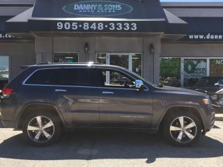 Used 2016 Jeep Grand Cherokee Overland for sale in Mississauga, ON