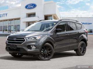 New 2019 Ford Escape SE for sale in Winnipeg, MB