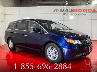 Used 2016 Honda Odyssey EX-L RES + DVD + CUIR + TOIT + WOW !! for sale in St-Basile-le-Grand, QC