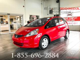 Used 2014 Honda Fit DX MANUEL + BAS KILO + WOW !! for sale in St-Basile-le-Grand, QC