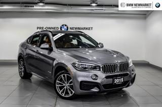 Used 2015 BMW X6 xDrive50i -NO ACCIDENTS|HEA PKG| for sale in Newmarket, ON