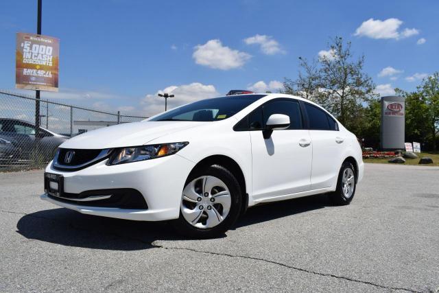 2013 Honda Civic LX AC/AUTO/PL/PW/CD/ABS