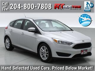 Used 2015 Ford Focus SE for sale in Winnipeg, MB