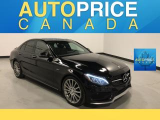 Used 2016 Mercedes-Benz C-Class AMG|PANOROOF|NAVIGATION|LEATHER for sale in Mississauga, ON