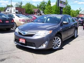 Used 2013 Toyota Camry XLE,HYBRID,Bluetooth,Navi,Fog lights,Sunroof for sale in Kitchener, ON