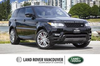Used 2016 Land Rover Range Rover Sport V8 Supercharged Dynamic *Certified Pre-Owned! for sale in Vancouver, BC