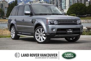 Used 2012 Land Rover Range Rover Sport V8 Supercharged (SC) *Local! Low Kilometers! for sale in Vancouver, BC