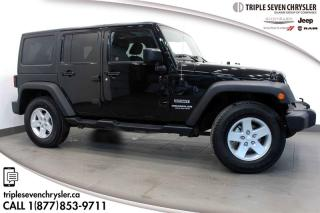 Used 2015 Jeep Wrangler Unlimited Sport A/C - BLUETOOTH for sale in Regina, SK