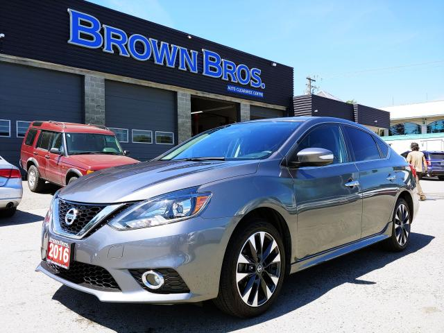 2016 Nissan Sentra SR, LOCAL, ACCIDENT FREE,