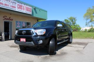 Used 2015 Toyota Tacoma V6 $134.29 WEEKLY! $0 DOWN! CERTIFIED!! for sale in Bolton, ON