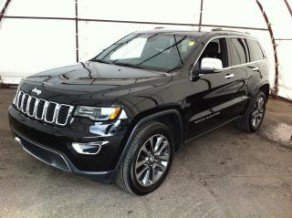 Used 2018 Jeep Grand Cherokee Limited DUAL PANE SUNROOF, NAVIGATION, REAR LOAD LEVELING SUSPENSION for sale in Ottawa, ON