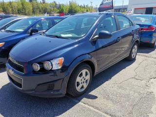 Used 2015 Chevrolet Sonic Berline 4 portes LS à b. man. for sale in Chicoutimi, QC