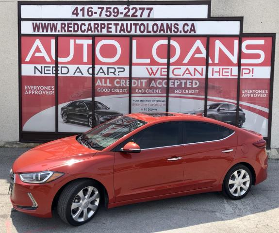 2017 Hyundai Elantra Limited LIMITED-0% DOWN ALL CREDIT ACCEPTED