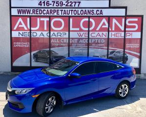 Used 2016 Honda Civic LX-ALL CREDIT ACCEPTED for sale in Scarborough, ON