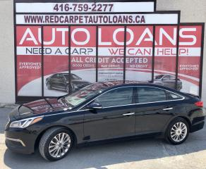 Used 2015 Hyundai Sonata Limited LIMITED-0% DOWN ALL CREDIT ACCEPTED for sale in Scarborough, ON