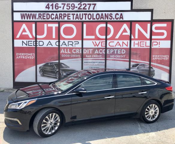2015 Hyundai Sonata Limited LIMITED-0% DOWN ALL CREDIT ACCEPTED