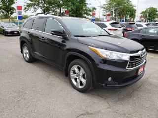 Used 2016 Toyota Highlander Limited | Panoramic Moonroof | Navigation for sale in Etobicoke, ON