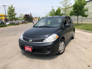 Used 2012 Nissan Versa Auto, 4 door, 3/Y warranty available for sale in Toronto, ON