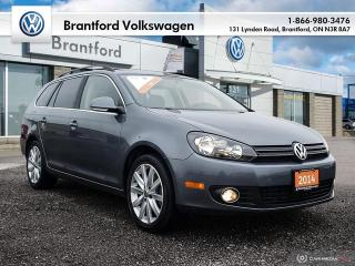 Used 2014 Volkswagen Golf Wagon 2.0 TDI Highline DSG at w/ Tip for sale in Brantford, ON