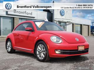 Used 2014 Volkswagen Beetle Coupe Highline 2.0 TDI 6sp DSG at w/ Tip for sale in Brantford, ON