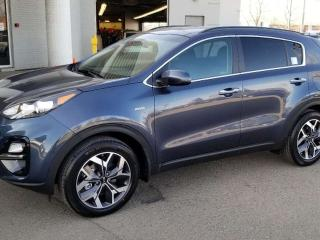 Used 2020 Kia Sportage EX AWD; ADVANCED SAFTEY, BLUETOOTH, WIRELESS PHONE CHARGER, BACKUP CAM, HEATED SEATS AND MORE! for sale in Edmonton, AB