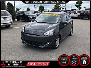 Used 2015 Mitsubishi Mirage SE à hayon 4 portes MANUELLE A/C for sale in St-Jérôme, QC