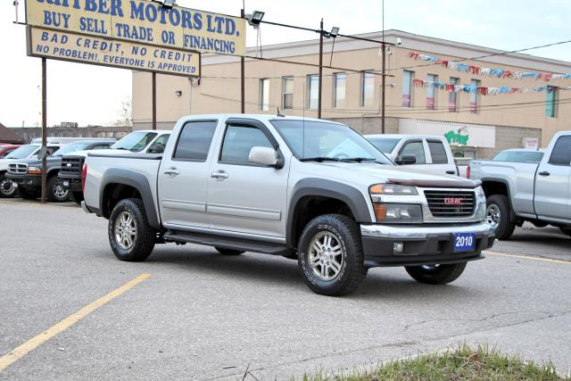2010 GMC Canyon SLT 4X4