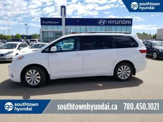 Used 2017 Toyota Sienna LE/AWD/BACK UP CAMERA/BLUETOOTH for sale in Edmonton, AB