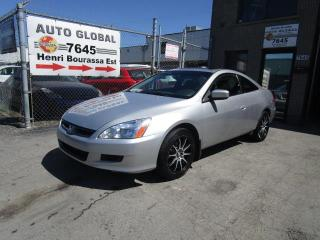 Used 2007 Honda Accord V6 EX CUIR, MAGS A/C for sale in Sherbrooke, QC