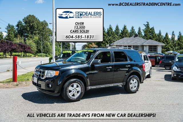 2010 Ford Escape XLT AWD, Low Km's, Local, No Accidents, Black