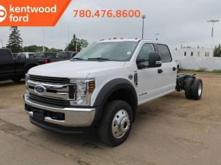 New 2019 Ford F-550 Super Duty DRW XLT 663A 6.7L power stroke V8 diesel, payload plus pkg upgrade, power drivers seat, trailer brake controller for sale in Edmonton, AB