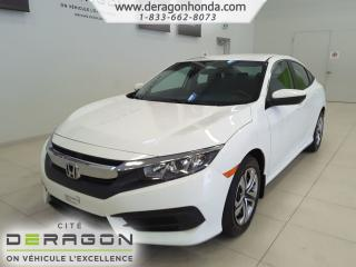 Used 2016 Honda Civic Lx+bas for sale in Cowansville, QC