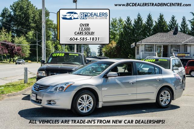 2012 Nissan Altima 2.5 SL, Backup Cam, Bluetooth, Leather, Sunroof!