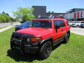 Used 2012 Toyota FJ Cruiser Trail Teams Special Edition~CERTIFIED!!! for sale in Toronto, ON