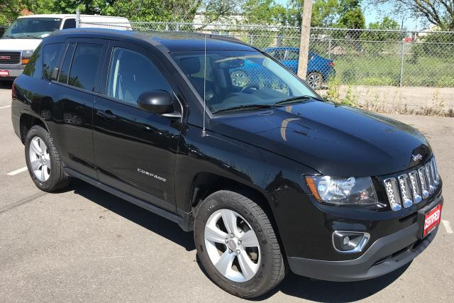 2016 Jeep Compass HIGH ALTITUDE **4X4, HTD LEATH, SNRF, BACKUP CAM**