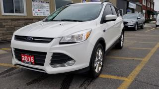Used 2015 Ford Escape SE-SUNROOF-NAVIGATION-LEATHER for sale in Tilbury, ON