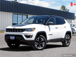 Used 2018 Jeep Compass Trailhawk,4X4,NAVI,R/V CAM,PWR TAILGATE for sale in Barrie, ON
