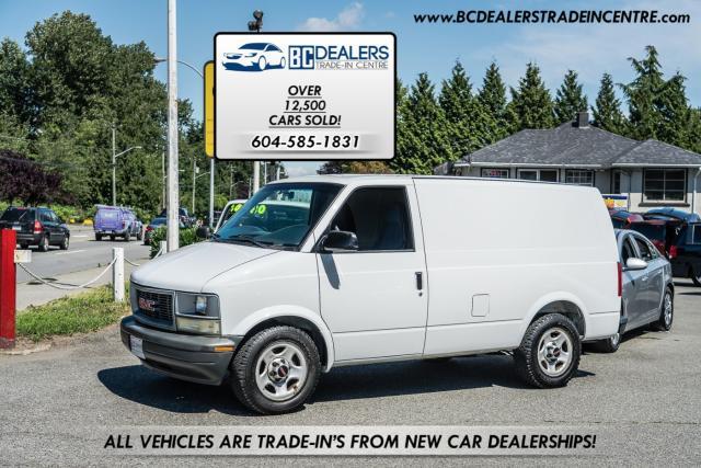 2005 GMC Safari Cargo Van, Flooring, Security Box, No Windows!