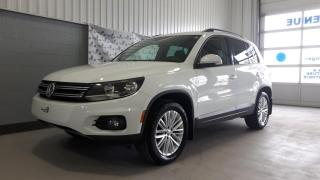Used 2016 Volkswagen Tiguan Tiguan Spécial Edition 4MOTION (74$ par for sale in Chicoutimi, QC