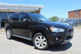 Used 2011 Mitsubishi Outlander XLS - 7 Seats|4x4|Leather|Sunroof for sale in Mississauga, ON