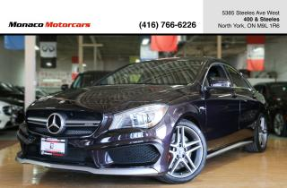 Used 2015 Mercedes-Benz CLA-Class CLA45 AMG - BLINDSPOT|PANOROOF|NAVIGATION|BACKUP for sale in North York, ON