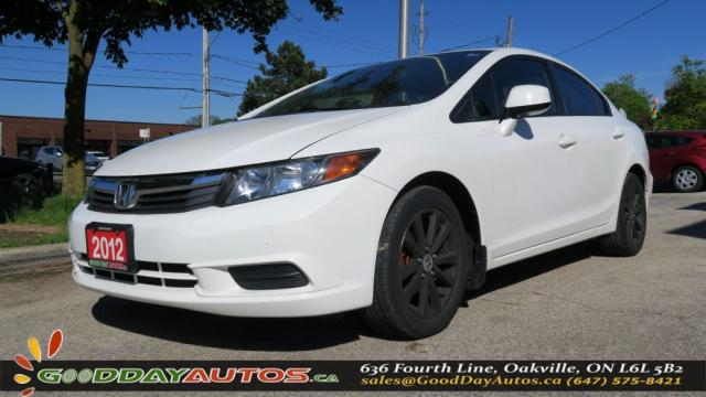 2012 Honda Civic EX-L|NO ACCIDENT|LEATHER|NAV|SUNROOF|ALLOYS|BT